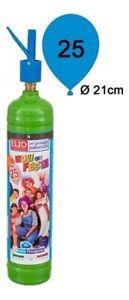 Kit Bombola Gas Elio Compreso Di 25 Palloncini Per Feste Compleanni Party