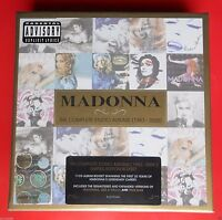 rare box set 11 cd compact disc cofanetto madonna the complete studio collection