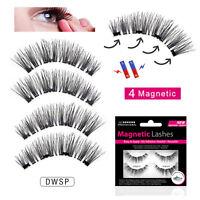 Magnetic Lashes - Double Wispies- False/Fake Eyelashes Wispies - No Glue Needed