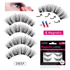 Magnetic Lashes - Double Wispies- False/Fake Eyelashes Wispies - No Glue Needed