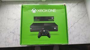 Boite vide Microsoft Xbox One 500Go + kinect