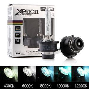 2Pcs 35W D2S D2C D2R Xenon HID Headlight Bulbs 4300K/6000K/8000K/10000K/12000K