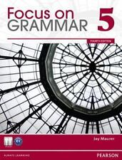 Focus On Grammar, Level 5, 4Th Edition By Maurer, Jay with cd NEW