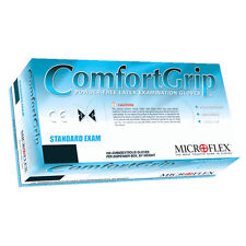 Microflex CFG-900M Comfort Grip Powder Free Latex Gloves - Medium, 10 Boxes