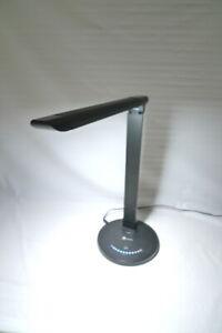 Tao-Tronics LED Dimmable Desk Lamp Model TT-DL 13 Foldable Black with USB Port