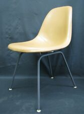 Vintage Late '50s-Early '60s Herman Miller DSX-1 Chair, Original Naugahyde (A)