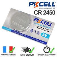 1 PILE CR2450 / CR 2450 / 3V LITHIUM / ENVOI RAPIDE
