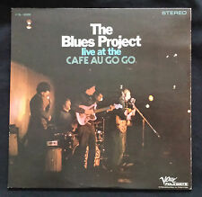 "THE BLUES PROJECT, ""LIVE AT THE CAFÉ AU GO GO"" 12"" LP VERVE/FOLKWAYS FTS-3000"