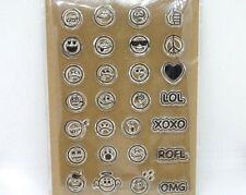 Motivstempel  Stempel  Kegelform  Smiley Traurig  14mm Kartengestaltung Basteln
