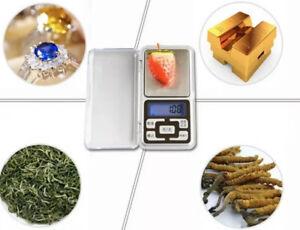 Pocket Digital Scale High Precision 500g / 0.1g Digital Pocket Jewellery Scales