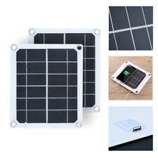5V 5W 1A Solar Panel USB Charger Battery Power 230*200*2.5mm Portable Travel