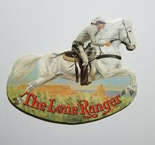 RARE!!!  THE LONE RANGER - Rocking Books (Die Cut to Shape of Rider & Horse)