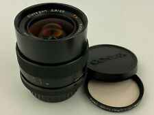 Contax Carl Zeiss Distagon 25mm F/2.8 T* Lens made in Germany  - Nice !
