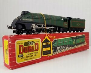 Vintage Hornby Dublo 2211 Golden Fleece Loco & Tender Never Used & Mint in Box!