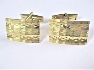 Cufflinks Gold Plated, 10,82 G