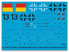 1/72 decals per una ta 152 neri 13 Willi Reschke JG 301 2484