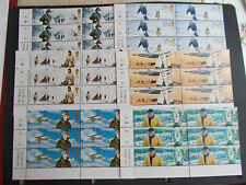 GB QEII 2003 Extreme Endeavours Set of 6 in Cylinder Blocks of 6 (Left) Cat £48
