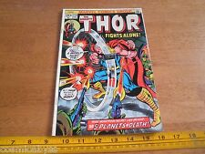 Thor 218 Bronze Age 1970's comic VG+ 5 planets of death
