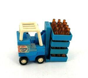 Buddy L Blue Diecast Pepsi Cola Forklift w/ 4 Crates