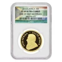 2014 South Africa 1 oz Proof Gold Krugerrand NGC PF 69 UCAM