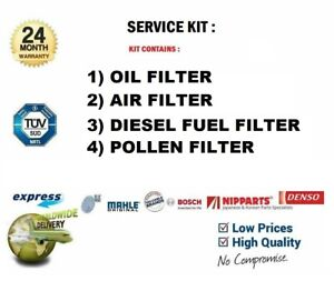 OIL AIR FUEL CABIN FILTERS for OPEL ASTRA F Estate 1.7 TDS 1991-1998