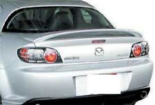 FITS MAZDA RX8 2004-2008 BOLT ON 2-POST REAR TRUNK SPOILER UNPAINTED