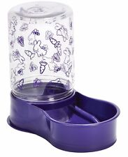 PET LODGE REVERSABLE FEEDER & WATERER Converts from Feeder to Waterer