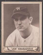 1940 Play Ball high #188 Joe Krakauskas Senators Ex-Mt!
