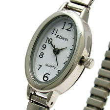 Stainless Steel Strap Analog Casual Oval Wristwatches