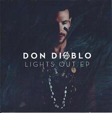 DON DIABLO - Lights out EP PROMO CD SINGLE 5TR (acetate) House 2012 HOLLAND