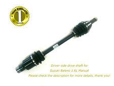 1 RHS Suzuki Baleno 1.6L Manual Brand New CV Joint Drive Shaft 4/95-11/01