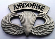 Us Army Paratrooper Airborne Wings Military Veteran Hat Pin Pewter 14746 Ho