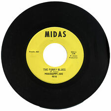 "MISSISSIPPI JOE  ""SOUL POWER c/w THE FUNKY BLUES""   NORTHERN / FUNK    LISTEN!"