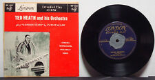 """TED HEATH ORCHESTRA Fats Waller London Suite RARE EXC 1954 7"""" EP LONDON 45rpm"""