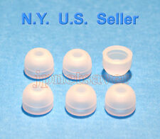 6 Clear White Small Motorola S10-HD, S9-HD, S9 replacement earbuds - Motorokr