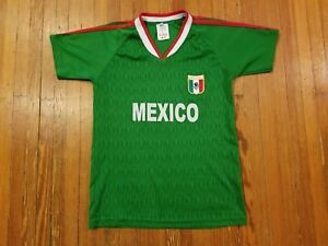 Mexico Green Soccer Jersey Boy's Size M (12)