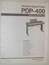 Yamaha Personal Digital Piano PDP-400 Keyboard Service Repair Manual Schematics