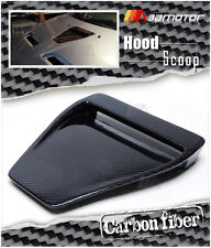 Carbon Fiber Bonnet Scoop Hood Air Vent Intake for Mitsubishi Evolution X EVO 10