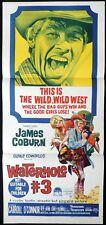 WATERHOLE #3 Original daybill Movie Poster James Coburn Blake Edwards