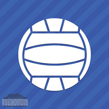 Water Polo Ball Vinyl Decal Sticker