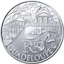 Guadeloupe 2011 - 10 Euro des Régions en Argent