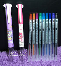 2x NEW My Melody Style Fit Pen + 8 Refills Sanrio Uni-Ball SPECIAL EDITION Cute