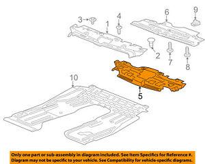 Chevrolet GM OEM 12-16 Sonic Splash Shields-Inner Shield 95026205
