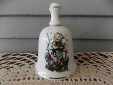Vintage 1988 The Children Of Hummel Feeding Time Bell Made in West Germany
