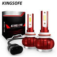 2X Mini 9005 HB3 H10 Auto Headlight Bulb 36W 6000LM Car Led Lights Headlamp Kit