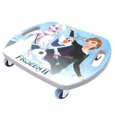 Disney Frozen Ii Scoot Racer Scooter Board With Casters Zooms & Spins!