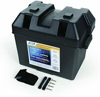 Heavy Duty Battery Box with Straps and Hardware Group 24 RV Automotive Marine