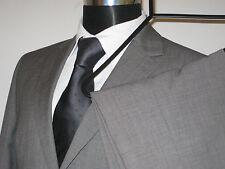 """Burton Performance, Light Grey, 2 Button Suit. Size 38""""R Ch - 34W 31L Trs"""