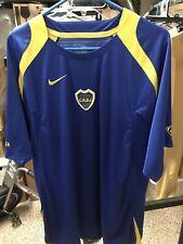 Nike XL Boca Juniors Training Kit Shirt Jersey Maillot Camiseta Vintage Total 90