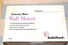 RADIO SHACK 15-886 WALL ANTENNA MAST MOUNT NEW NIB 8 inch clearance